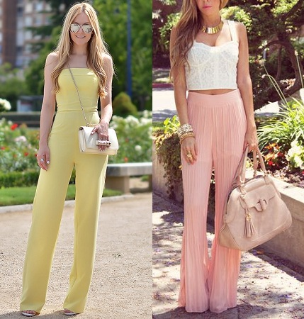 Pastel Colored Palazzos