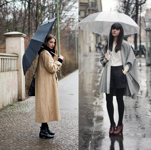 Look Stylish When It's Raining