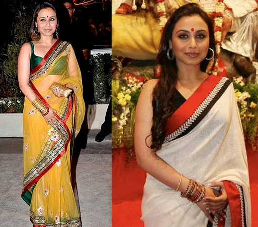 Rani Mukerjee Saree Collection