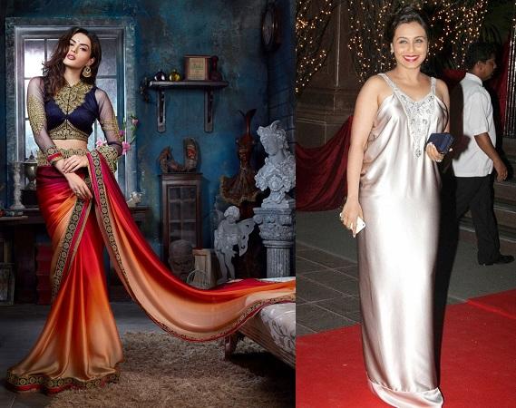 Satin Fabric Dress