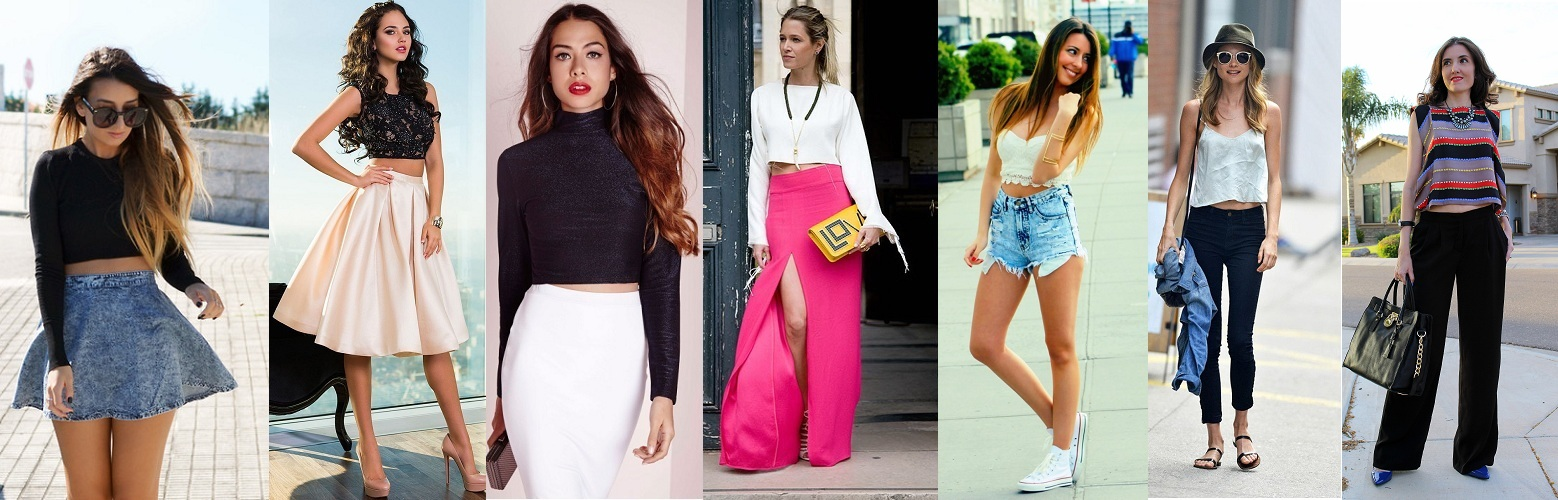 Ways to Wear Crop Tops