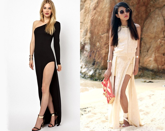 Side Slit Dresses