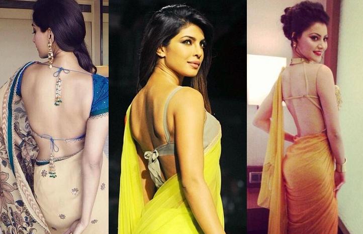 Celebrities Wearing Elegant Back Cuts