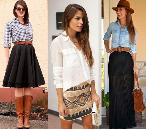 shirts-and-ethnic-skirt