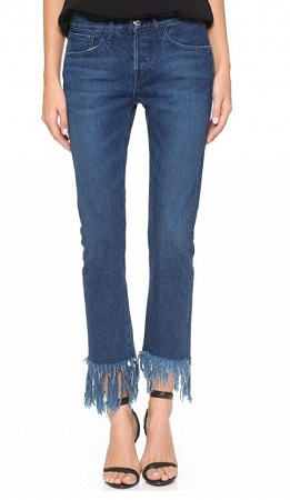 Fringed Jeans Online