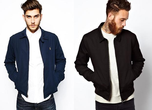 Harrington Jacket With Polo Shirt