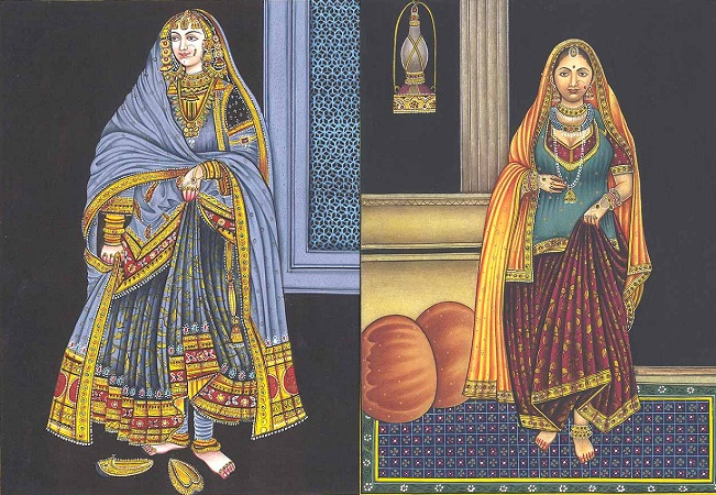 Indian Dresses During Mughal Era