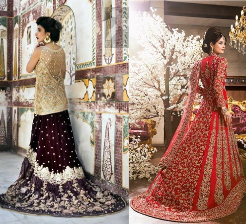 lehenga-with-a-trail