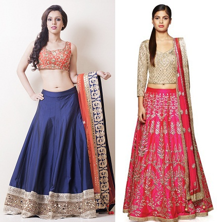 lehenga-with-gota-patti-border