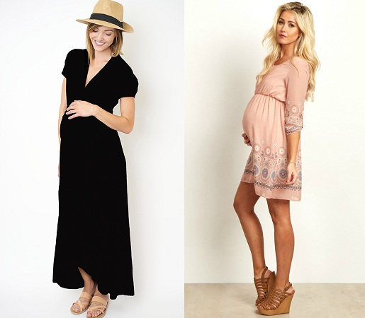 light-and-airy-dress-for-pregnancy