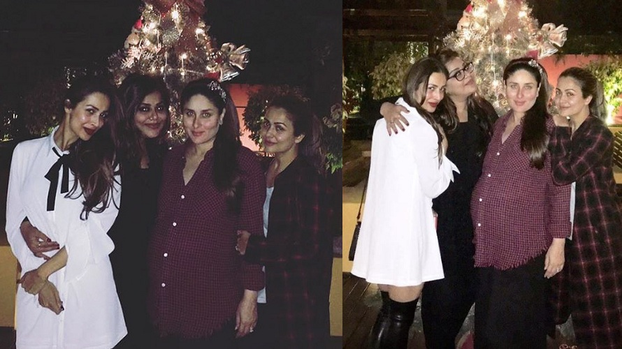 Mom-to-be Kareena Kapoor celebrates Pre Christmas Bash With Her Gang of Girls