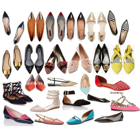 pointed-flats
