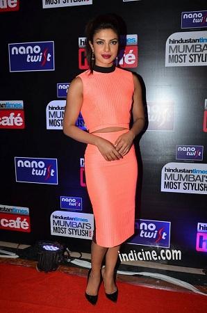 Priyanka Chopra Hindustan Times Mumbais Most Stylish Awards 2014