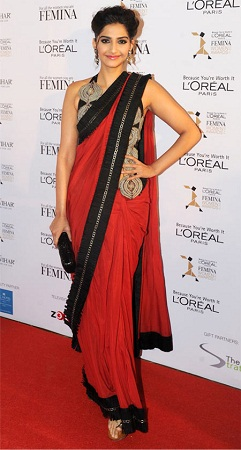 sonam-kapoor-in-red-saree