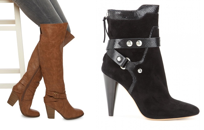 wrap around boots