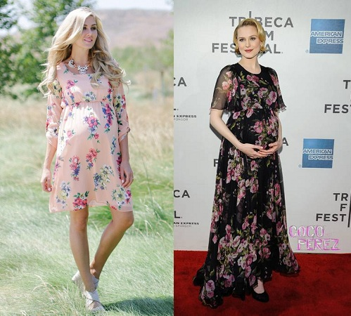 floral-maternity-frock