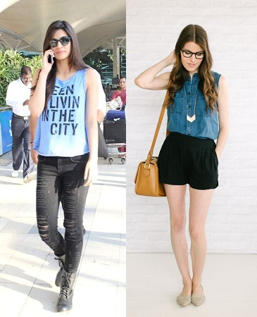 sleeveless-tops-paired-with-jeans-and-shorts