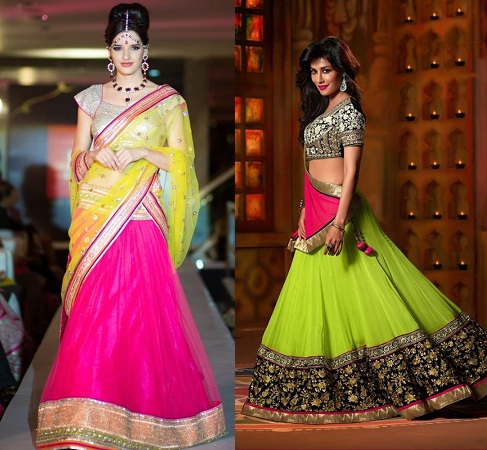 choli-with-neon-ghagra