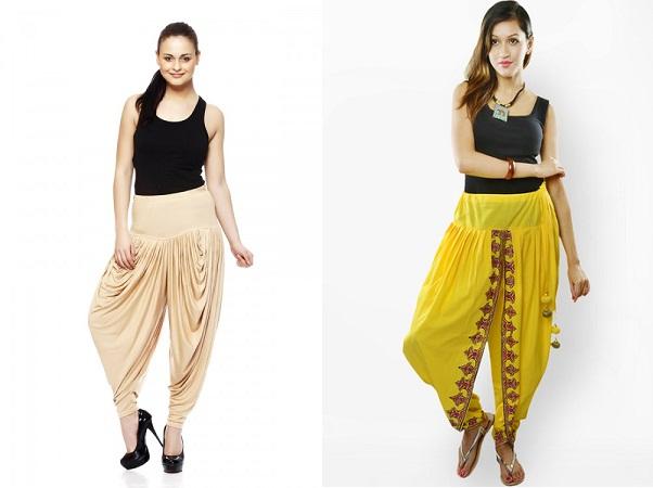 Dhoti Pants With Tank Top