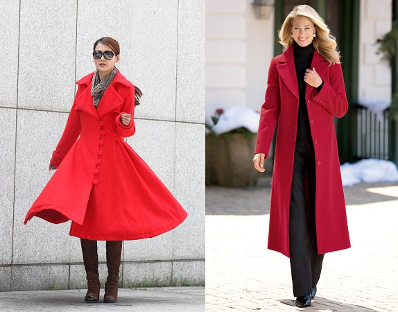 Long Red Overcoat