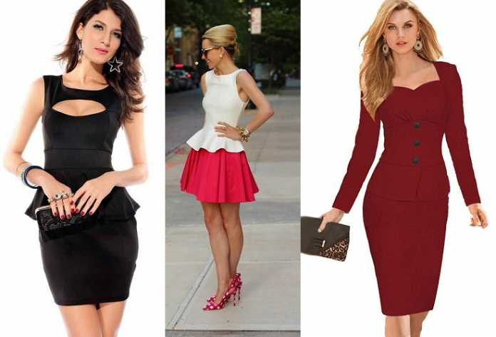 Peplum Dress With Panache