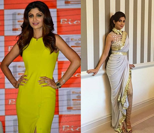 Shilpa Shetty Yummy Mummy Look
