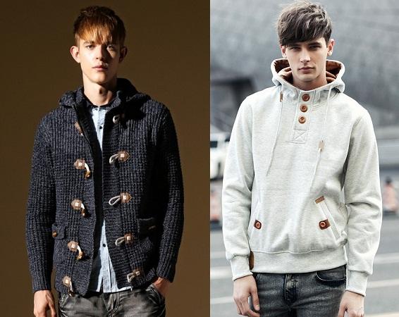 Sweatshirt Buttoned Style