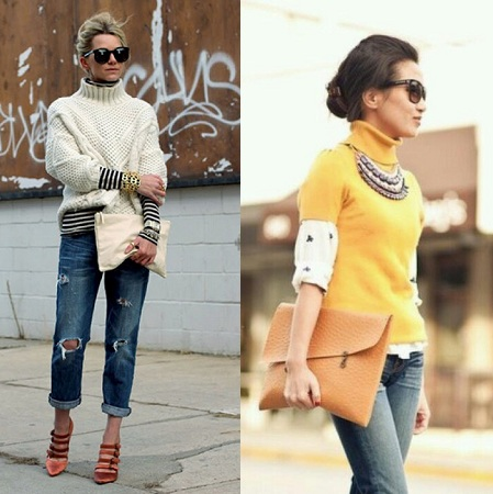 turtleneck-sweaters-with-denim-and-chunky-accessories