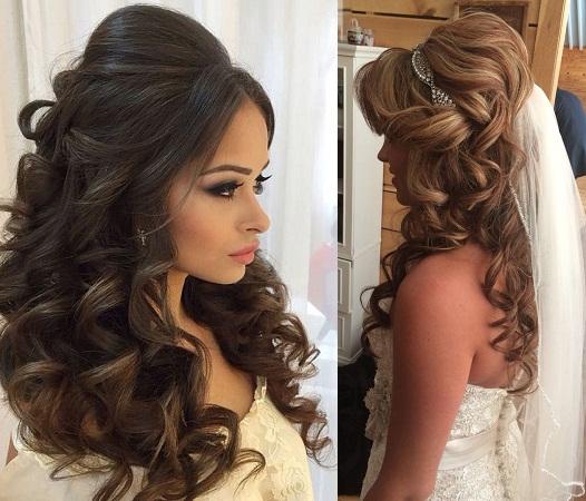 Wavy Hairdo With Voluminous Tops