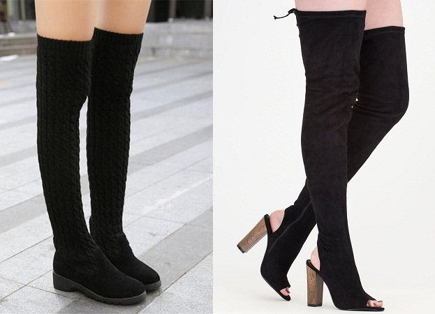 Athletic Women Thigh High Boots
