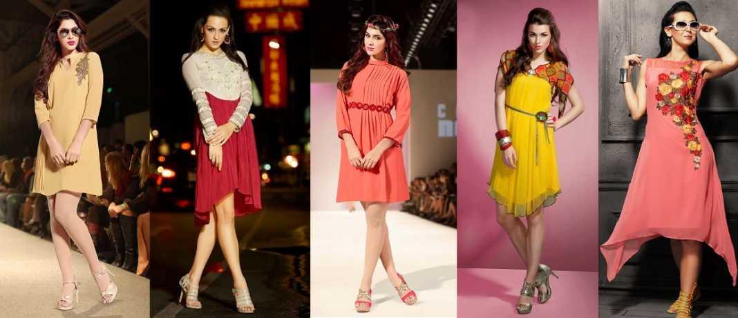 Designer Kurti Without Leggings