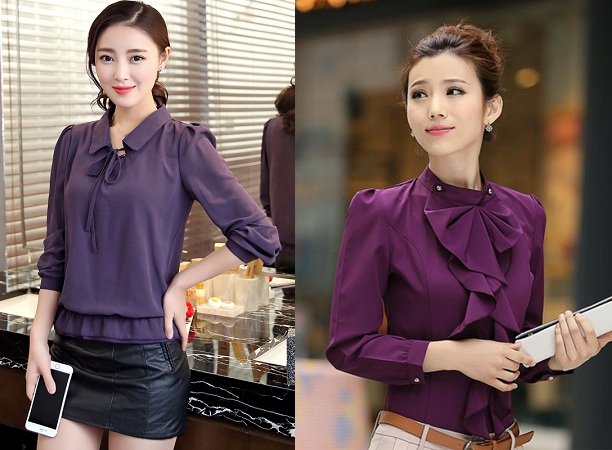 Full Sleeve Chiffon Top