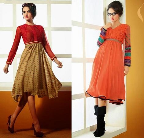 Indo-Western Style Kurti