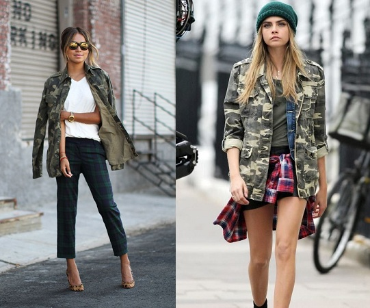 Military Patterned Jacket