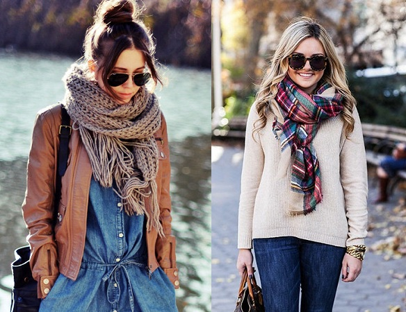 Neck Wrap Scarves
