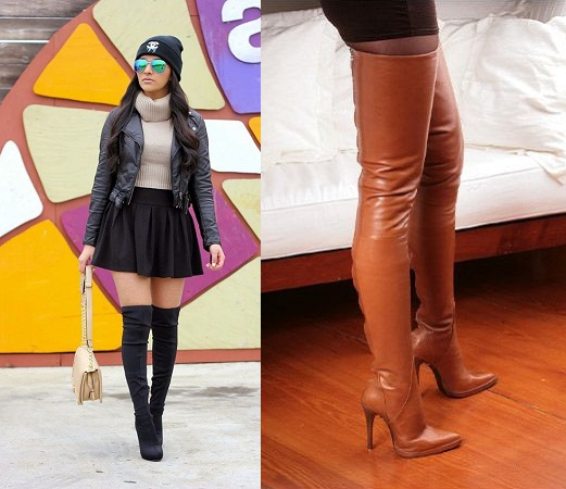 Petite Beauties Thigh-High Boots
