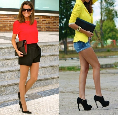 Shorts-With-Heels