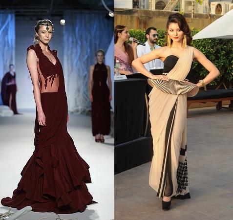 Trendy Saree Gown