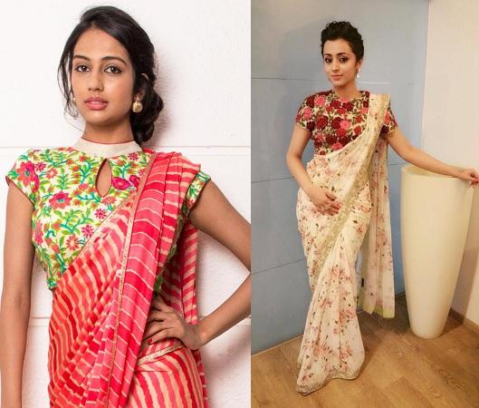 Bagh Phulkari Work Designer Blouses