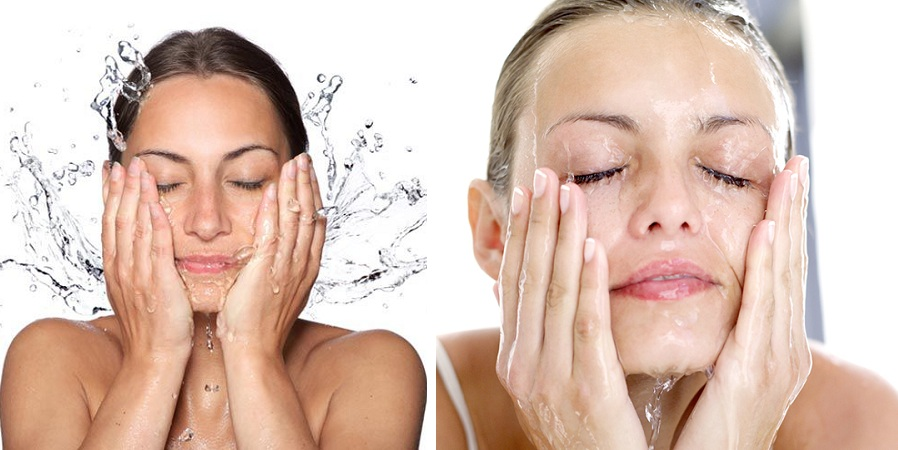 Clean Your Face With Cold Water