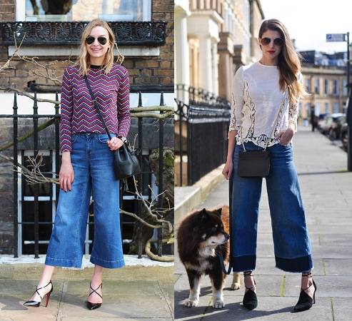 Culottes In Denim