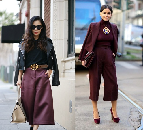 Culottes With Jackets