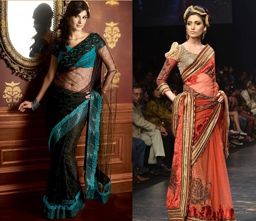 Designer sarees by Neeta Lulla