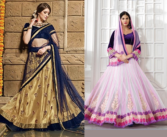 Flare Style Lehenga Sari