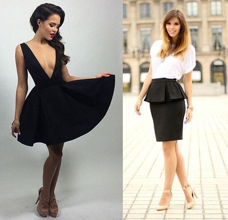 Heels For Peplum Dress