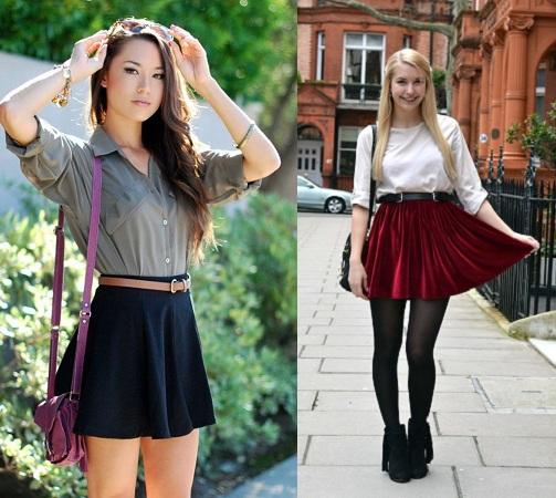 High Waist Skirts