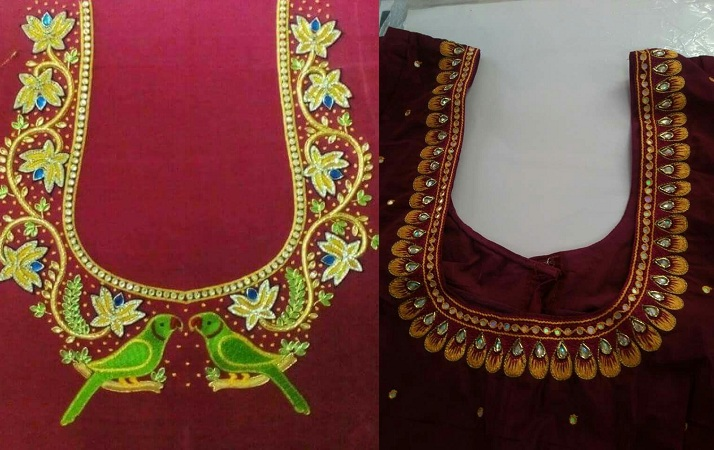 Jewellery Motif Blouse