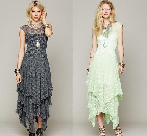 Layered Asymmetrical Dress