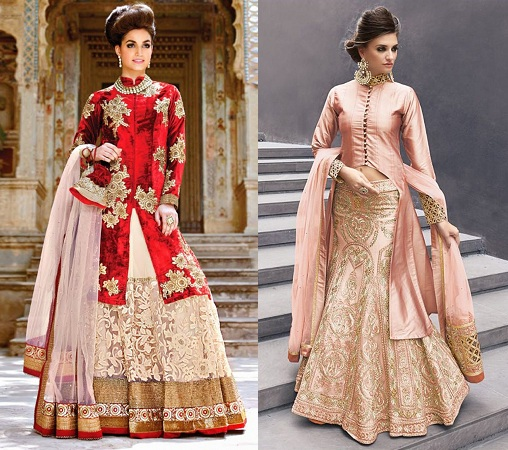 Long Length Jacket lehenga