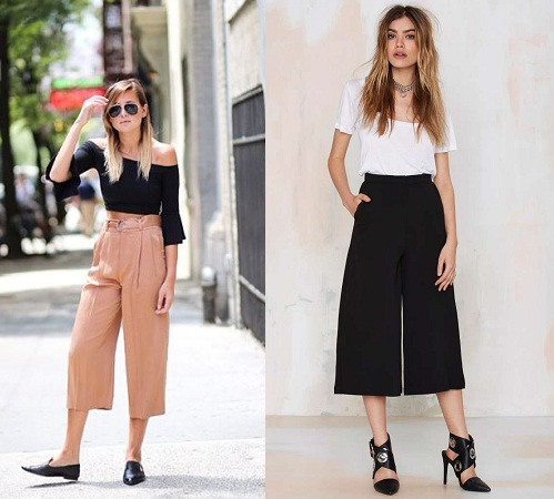 Look Sexier In Culottes